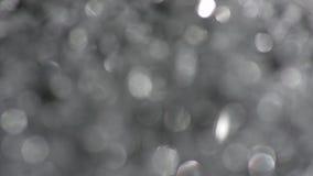 Вращение Bokeh кругов в a по часовой стрелке Стоковые Фото
