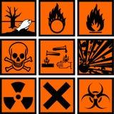 вредные знаки Стоковые Фотографии RF