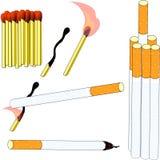 вредный курить Стоковое фото RF