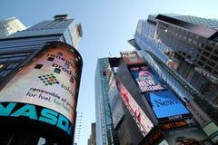 времена квадрата nyc NASDAQ здания Стоковые Фото