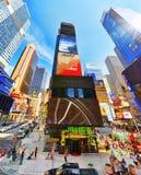 Времена Квадрат-центральные и главная площадь Нью-Йорка США стоковое фото rf