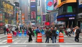 времена мола пешеходные квадратные Стоковое фото RF