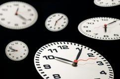 времена часов Стоковые Изображения RF