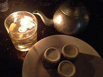 Времена чая Стоковое фото RF