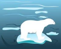 времена polarbears греют Стоковые Фото