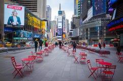 времена york города новые ny квадратные Стоковые Фотографии RF