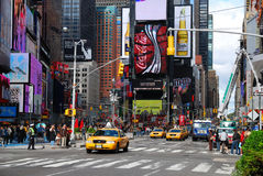 времена york manhattan города новые квадратные Стоковая Фотография RF