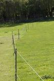 Временный ограждать paddock Стоковое Изображение RF