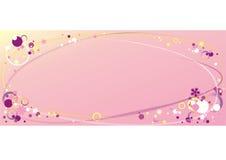 временя рамки розовое иллюстрация штока