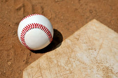 время бейсбола Стоковые Фото
