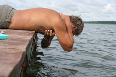 время ванны стоковое изображение rf