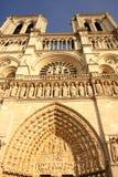 время весны paris notre dame собора Стоковые Фотографии RF