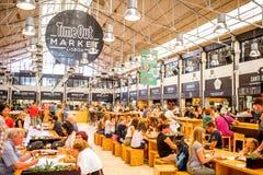 Время вне выходит на рынок в Лиссабоне Стоковая Фотография RF