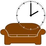 Время ворсины Стоковое Изображение RF