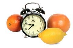 Время выпить витамины Стоковые Изображения