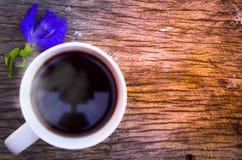 Время в утре, красивое время Coffe в дне Стоковое Фото