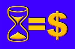 Время деньги Стоковые Изображения RF