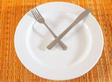 время еды Стоковая Фотография