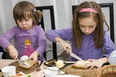 время еды Стоковые Фотографии RF