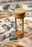 Время деньги мира Стоковая Фотография RF