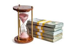 Время деньги Стоковые Фотографии RF