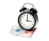 Время деньги Стоковое фото RF