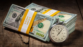 Время деньги Стоковые Фото