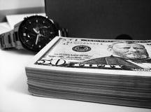 Время деньги Стоковая Фотография