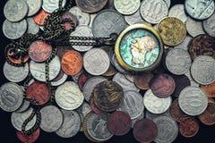 Время деньги Стоковые Изображения