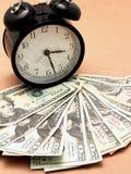 Время деньги jpg Стоковые Изображения