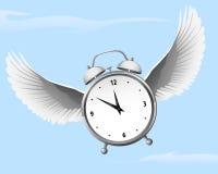 Время летит Стоковое фото RF