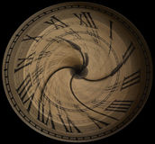 Время летит Стоковое Изображение