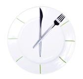 время еды Стоковая Фотография RF