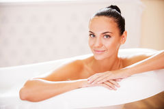 Время жемчужной ванны Стоковые Изображения RF