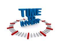 Время изобрести Стоковое Изображение RF