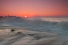 Время и вода Стоковая Фотография