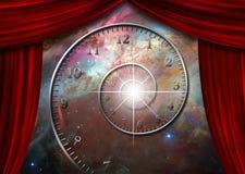Время и пространство Стоковые Изображения