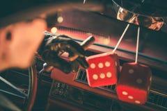 Время казино играя в азартные игры Стоковое Изображение RF