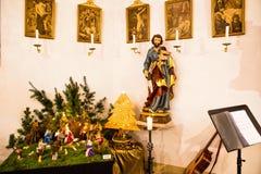 время конца рождества предпосылки красное вверх стоковое фото