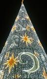 время конца рождества предпосылки красное вверх Стоковые Фото