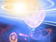 время космоса Стоковое Изображение RF