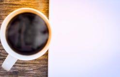 Время кофе в утре, празднике Стоковые Фотографии RF