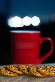 Время кофе на сумерк Стоковые Изображения RF