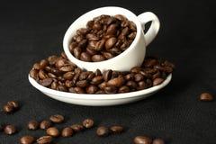время кофе предпосылки Стоковое Изображение RF