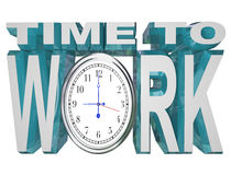 время краинего срока комплекса предпусковых операций часов работать работа Стоковые Изображения RF
