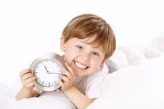 время кровати Стоковые Изображения