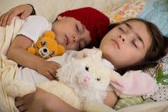 Время кровати Стоковая Фотография RF