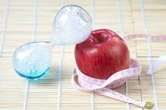 Время к концепции диеты Стоковое Изображение