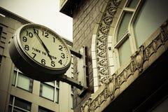 время магазина к стоковое изображение rf