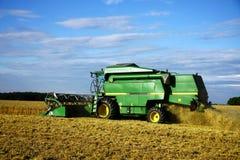 время машины хлебоуборки зернокомбайна Стоковые Изображения RF